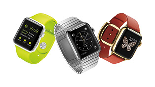 3 distinct collections—Apple Watch, Apple Watch Sport and Apple Watch Edition