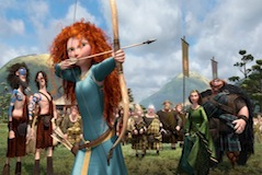 Merida (Kelly Macdonald) in Brave