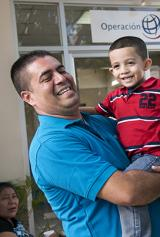 Honduran father finds purpose after son's surgery