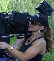 Janell filming